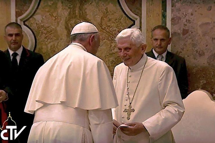 Anniversaire de l'ordination sacerdotale du pape émérite