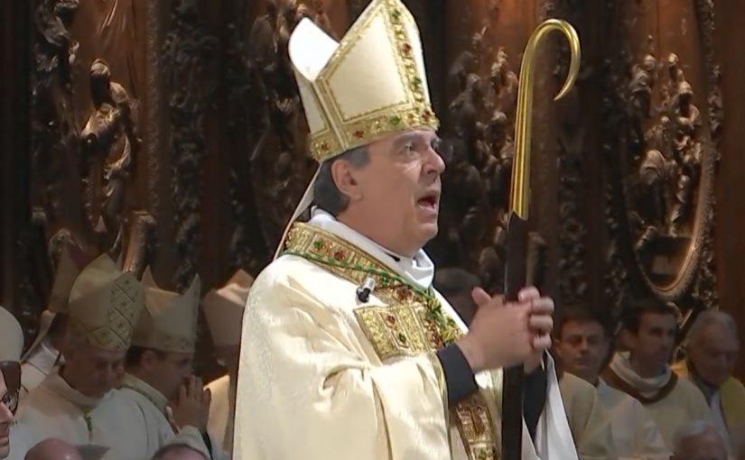Messe d'installation de Mgr Aupetit