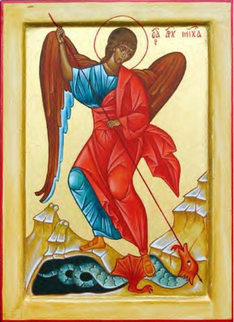 Michel terrasse la Dragon, Apocalypse 12