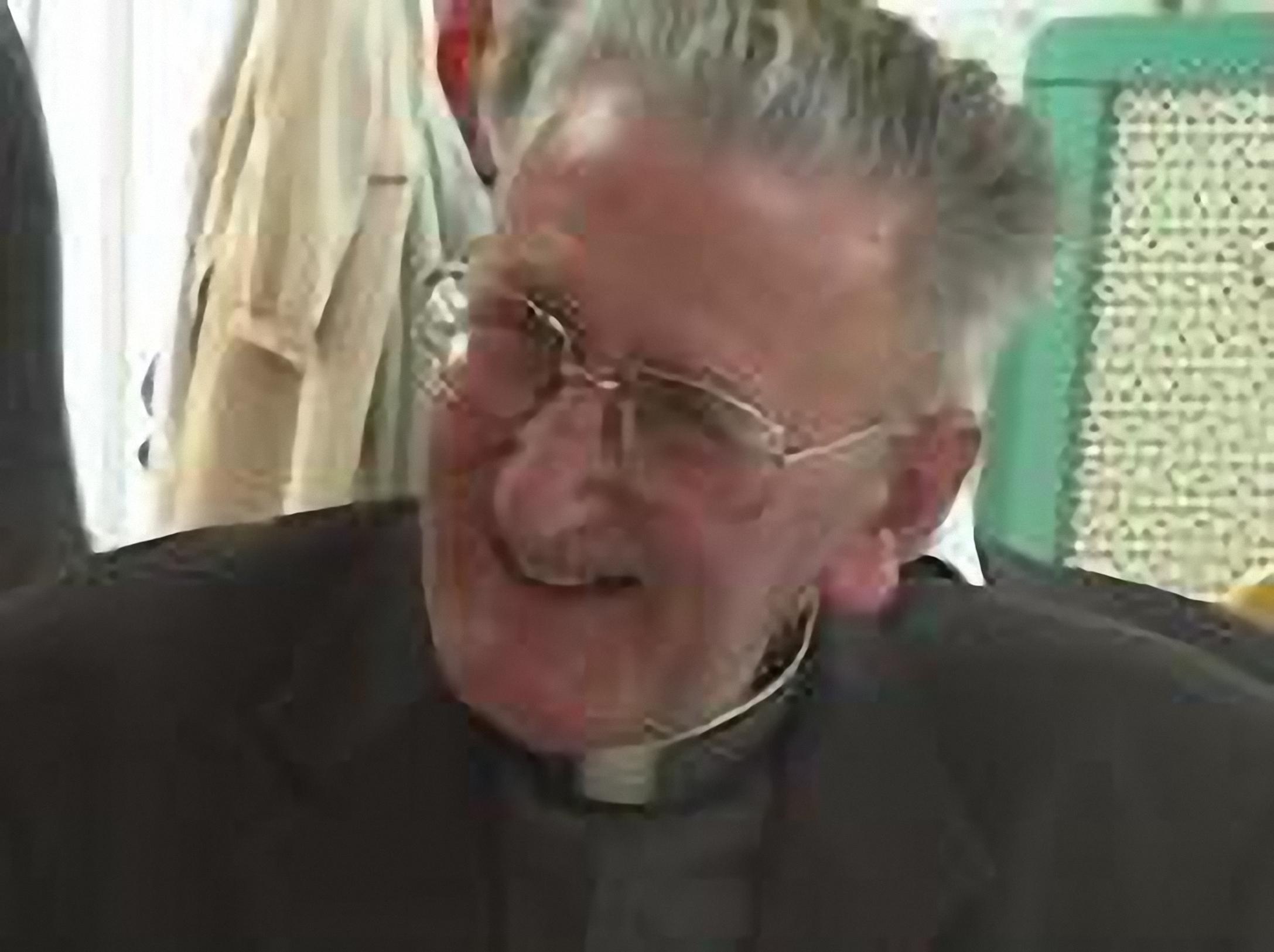 Un prêtre marial s'en est allé