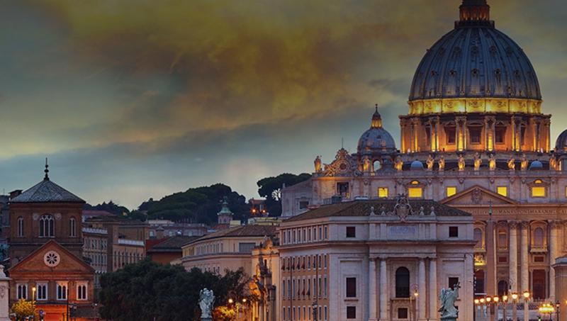 Les basiliques de Rome en 3D