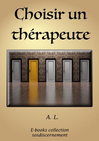 Choisir un thérapeute ?