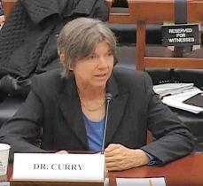 La climatologue Judith Curry