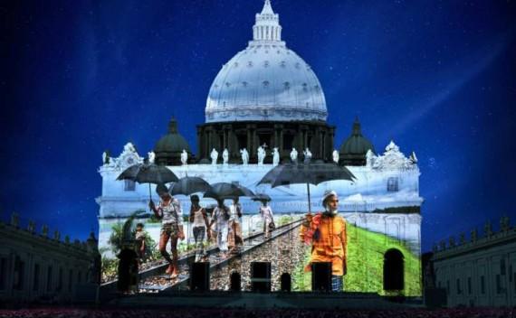 Le spectacle «Fiat Lux» sur St Pierre de Rome le 8 déc. : entre New Age et symboles occultes