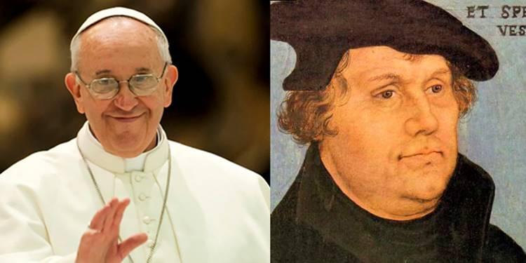 Luther, 500° anniversaire de la Réforme, visite du pape François en Suède