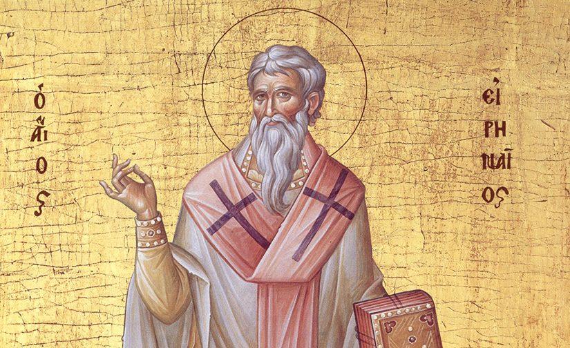 Saint Irénée, évêque de Lyon