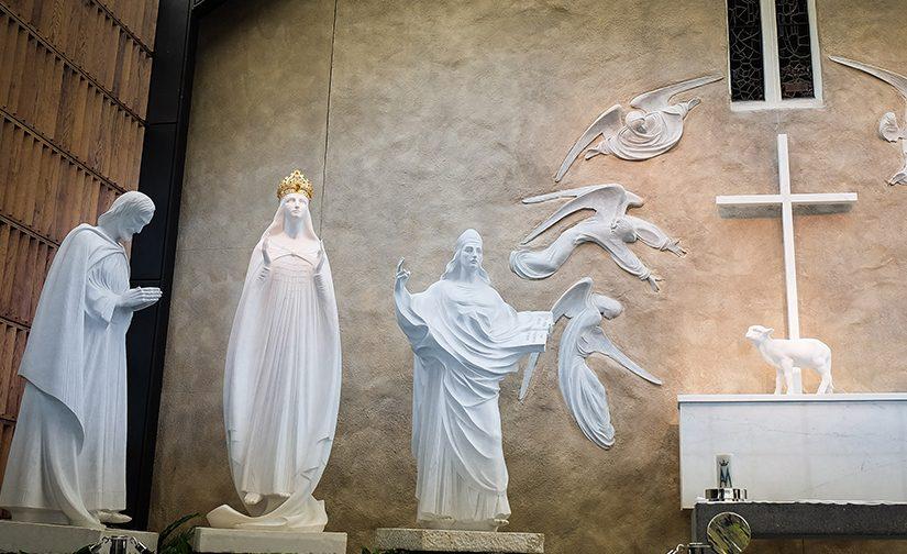 Voici l'Agneau de Dieu. L'apparition mariale de Knock en Irlande, 1879