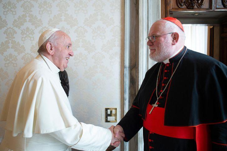 Réponse du pape François à la démission du Cardinal Marx