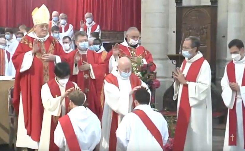 Ordinations dans le diocèse du Mans