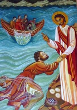L'apparition de Jésus au bord du lac
