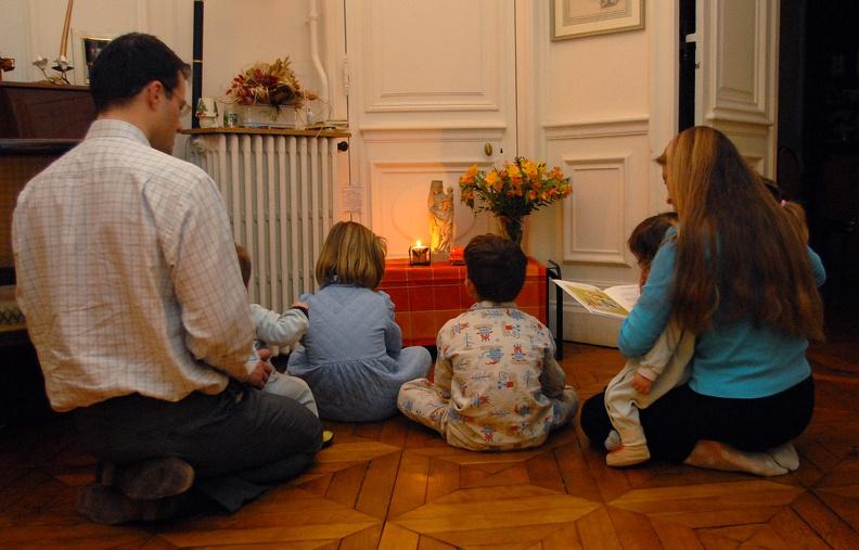 Pape François : la prière en famille