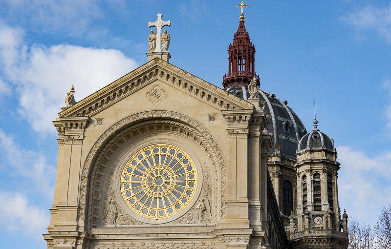Le nouveau visage de l'église St Augustin, Paris 8°
