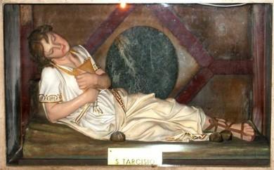 Saint Tarcisius, martyr de l'Eucharistie