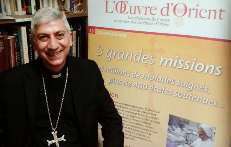 La croix que nous vivons… Mgr Tobji, archevêque maronite d'Alep