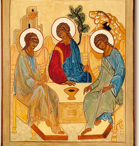 Gloire au Père, et au Fils, et au Saint Esprit